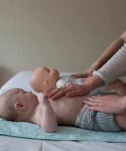 apprendre à masser son bébé à lyon