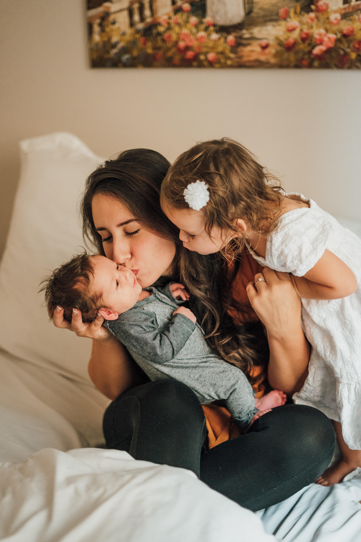massage en famille avec bébé et les enfants